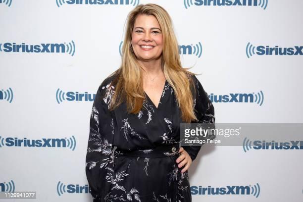 Lisa Whelchel visits SiriusXM Studios on April 02, 2019 in New York City.
