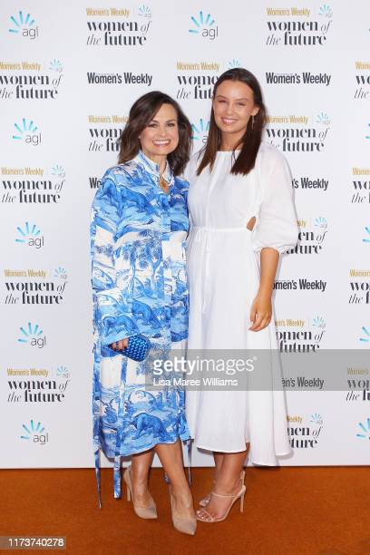 Lisa Wilkinson and daughter Billi FitzSimons attend the Women of The Future Awards on September 11 2019 in Sydney Australia