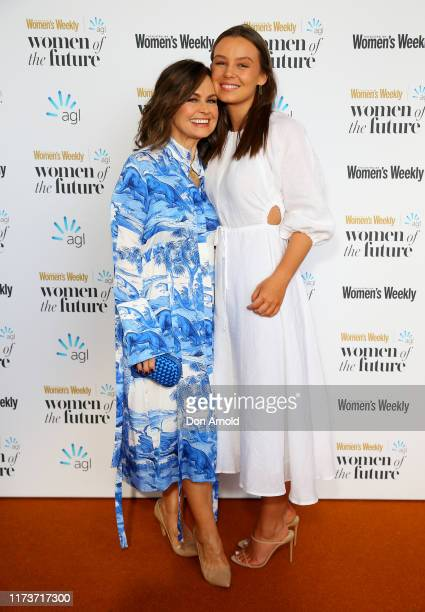 Lisa Wilkinson and daughter Billi FitzSimons attends the Women of The Future Awards on September 11 2019 in Sydney Australia