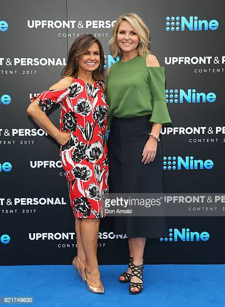 Lisa Wilkinson and Georgie Gardner pose during the Channel Nine Upfronts at The Star on November 8 2016 in Sydney Australia