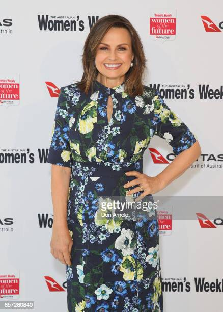Lisa Wilkinson arrives ahead of the annual Women of the Future awards on October 4 2017 in Sydney Australia