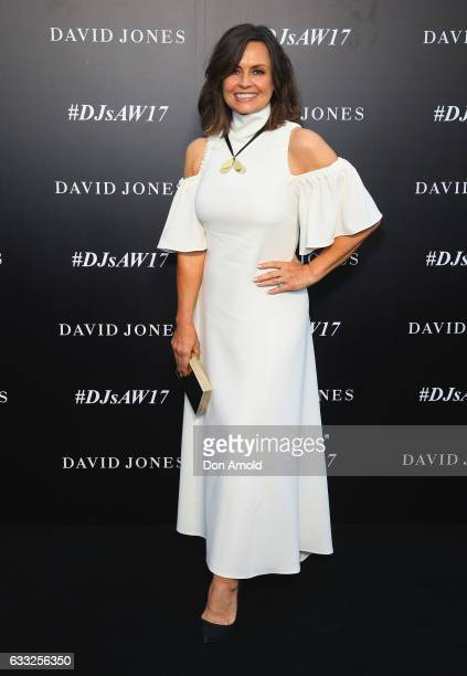 Lisa Wilkinson arrives ahead of the David Jones Autumn Winter 2017 Collections Launch at St Mary's Cathedral Precinct on February 1 2017 in Sydney...