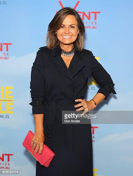 Lisa Wilkinson arrives ahead of the Eddie The Eagle screening at Event Cinemas Bondi Junction on March 30 2016 in Sydney Australia