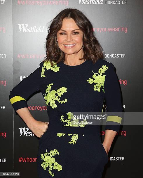 Lisa Wilkinson arrives at a red carpet event at Westfield Doncaster on April 14 2014 in Melbourne Australia