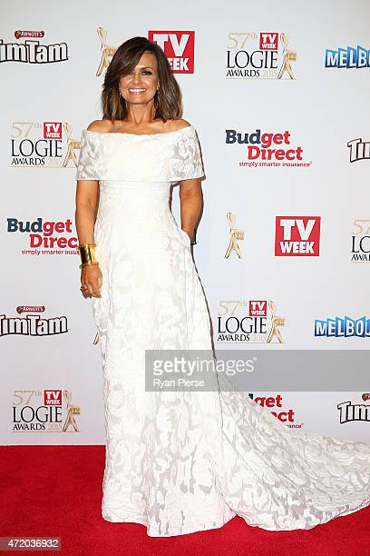 Lisa Wilkinson arrives at the 57th Annual Logie Awards at Crown Palladium on May 3 2015 in Melbourne Australia