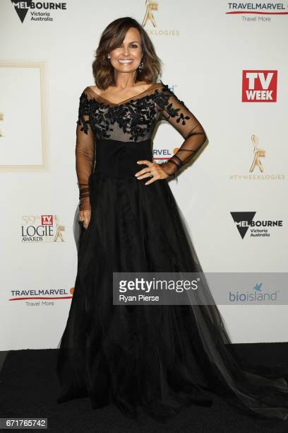 Lisa Wilkinson arrives at the 59th Annual Logie Awards at Crown Palladium on April 23 2017 in Melbourne Australia