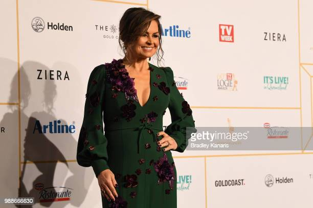 Lisa Wilkinson arrives at the 60th Annual Logie Awards at The Star Gold Coast on July 1 2018 in Gold Coast Australia
