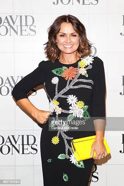 Lisa Wilkinson arrives at the David Jones Autumn/Winter 2015 Collection Launch at David Jones Elizabeth Street Store on February 4 2015 in Sydney...