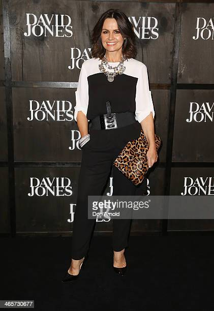 Lisa Wilkinson arrives at the David Jones A/W 2014 Collection Launch at the David Jones Elizabeth Street Store on January 29 2014 in Sydney Australia