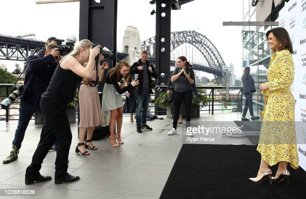 Lisa Wilkinson attends the Women of the FutureAwards at Quay on September 5 2018 in Sydney Australia