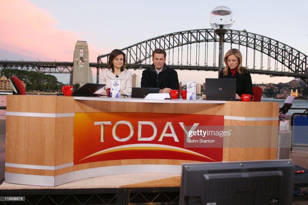 Today Celebrates 25 Years In Sydney : News Photo