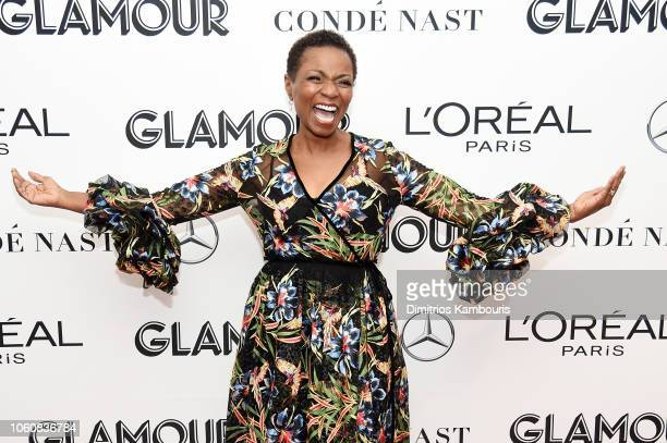 Lisa Williams poses backstage at the 2018 Glamour Women Of The Year Awards Women Rise on November 12 2018 in New York City