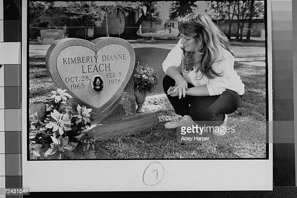 Lisa Williams visiting the grave of her best friend Kimberly Leach, who was a victim of serial killer Ted Bundy.