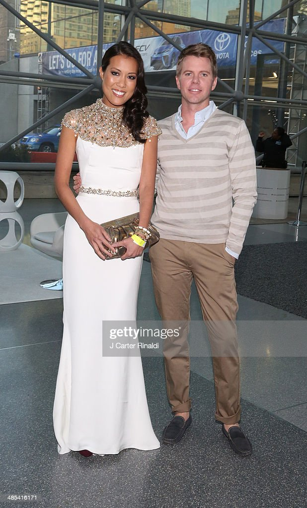 Lisa Yom and Clay Floren attend the East Side House Gala Preview during the 2014 New York Auto Show at the Jacob Javits Center on April 17, 2014 in New York City.