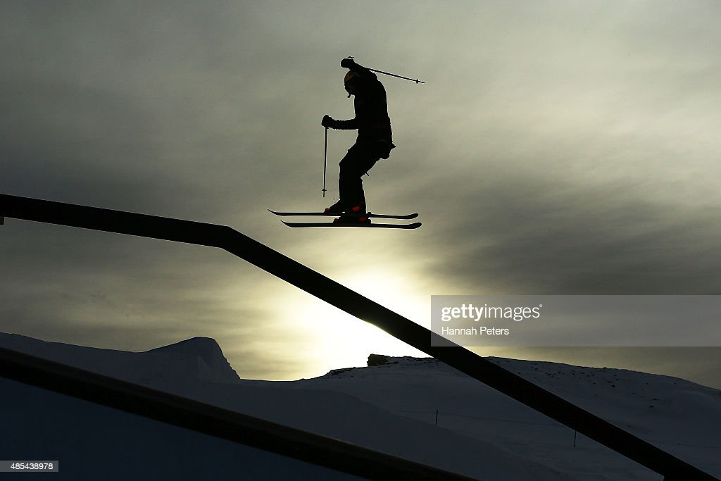 Lisa Zimmermann of Germany competes in the FIS Freestyle Ski World Cup Slopestyle Finals during the Winter Games NZ at Cardrona Alpine Resort on August 28, 2015 in Wanaka, New Zealand.