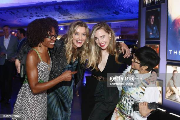 LisaGay Hamilton Natascha McElhone Melissa George and Keiko Agena attend Hulu's The First Los Angeles Premiere on September 12 2018 in Los Angeles...