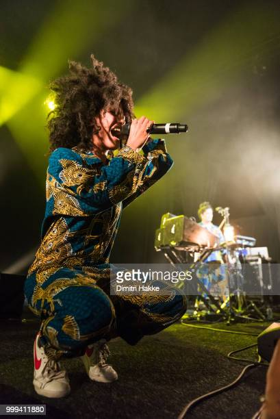 Christian Scott of RR=Now performs on stage at North Sea Jazz Festival at Ahoy on July 13 2018 in Rotterdam Netherlands