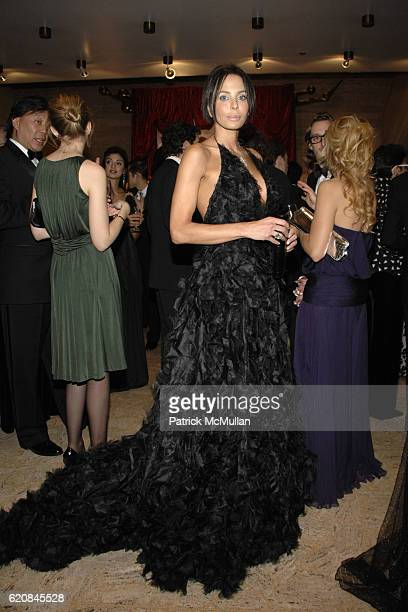 Lisamaria Falcone attends THE SCHOOL OF AMERICAN BALLET 2008 Winter Ball at New York State Theater on March 3 2008 in New York City