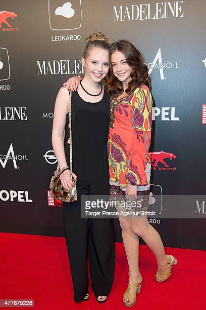 LisaMarie Koroll and Lina Larissa Strahl attends the New Faces Award Film 2015 at ewerk on June 18 2015 in Berlin Germany