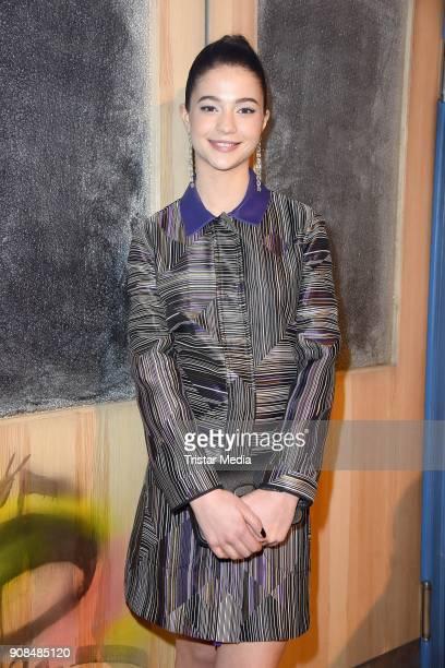 LisaMarie Koroll attends the 'Fack ju Goehte Se Mjusicael' Musical Premiere on January 21 2018 in Munich Germany