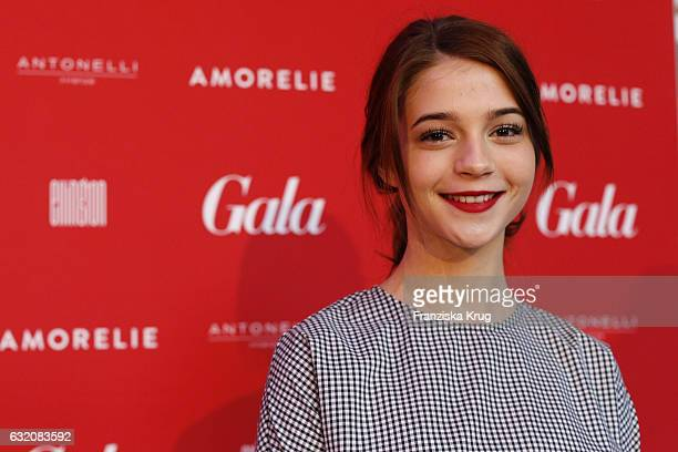 LisaMarie Koroll attends the 'Gala' fashion brunch during the MercedesBenz Fashion Week Berlin A/W 2017 at Ellington Hotel on January 19 2017 in...