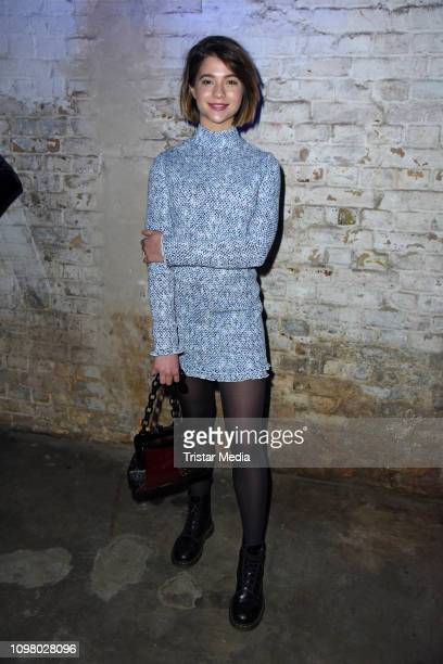 Lisa-Marie Koroll attends the Pantaflix Pantaparty during 69th Berlinale International Film Festival at Alte Muenze on February 11, 2019 in Berlin,...