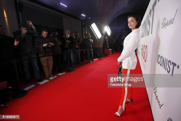 LisaMarie Koroll attends the Young ICONs Award in cooperation with ICONIST at SpindlerKlatt on February 14 2018 in Berlin Germany
