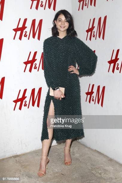 LisaMarie Koroll wearing HM during the Inter/VIEW X HM Party on February 13 2018 in Berlin Germany
