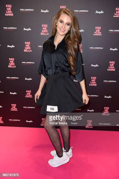 LisaMarie Schiffner during the 'Kiss Me Karl Limited Edition' Launch at Douglas Store on May 19 2018 in Berlin Germany