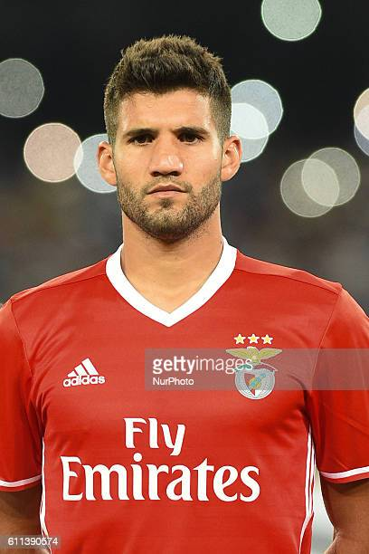 Lisandro Lopez of Sl Benfica during the UEFA Champions League match between SSC Napoli and Sl Benfica at Stadio San Paolo Naples Italy on 28...
