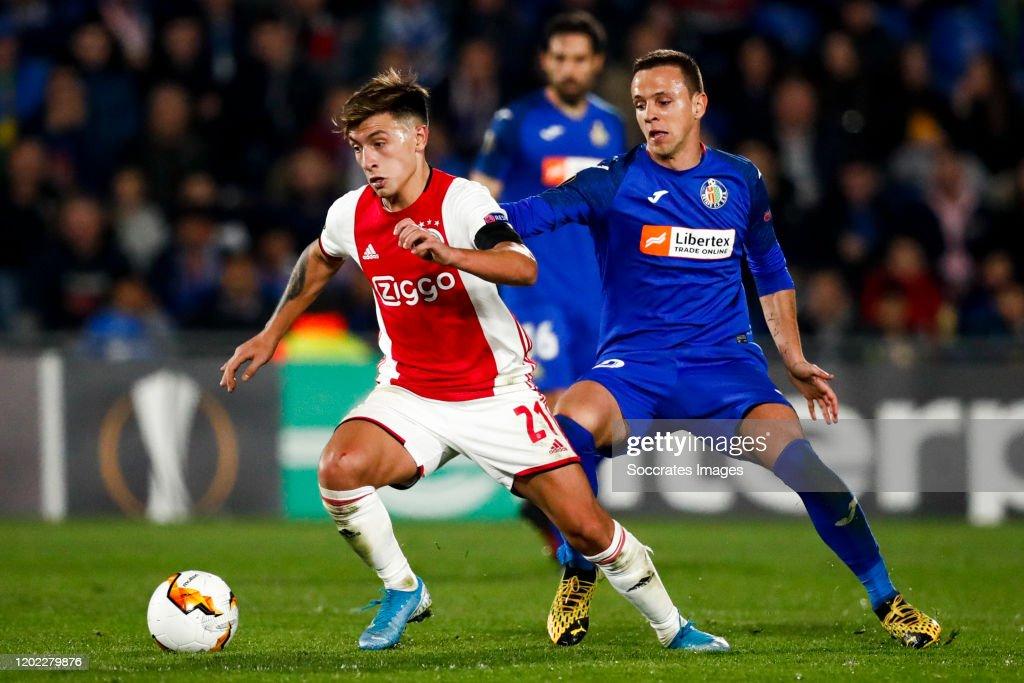 Getafe v Ajax - UEFA Europa League : News Photo
