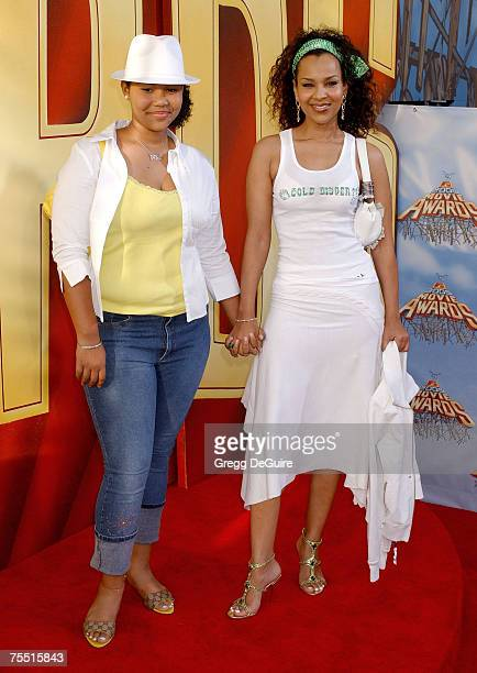 LisaRaye and daughter Kai at the Shrine Auditorium in Los Angeles California