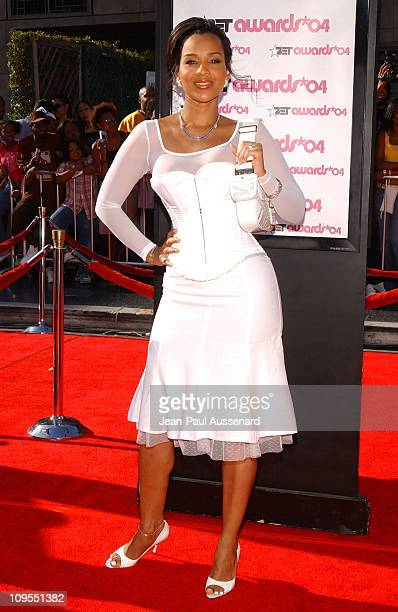 LisaRaye during 4th Annual BET Awards Arrivals at Kodak Theatre in Hollywood California United States