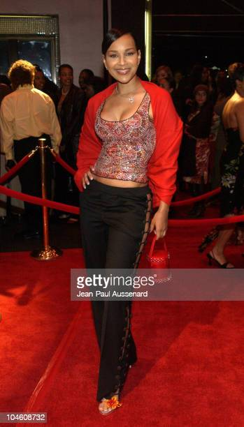 LisaRaye during What's On the Hearts of Men Play Opening Arrivals at Wilshire Theatre in Beverly Hills California United States
