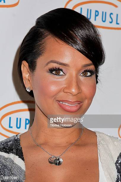 LisaRaye McCoy attends the 10th annual Lupus LA Hollywood Bag Ladies Event at the Beverly Wilshire Four Seasons Hotel on November 1, 2012 in Beverly...