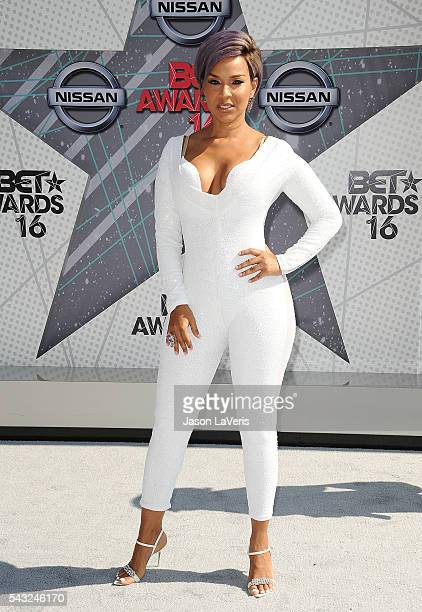 LisaRaye McCoy Misick attends the 2016 BET Awards at Microsoft Theater on June 26 2016 in Los Angeles California