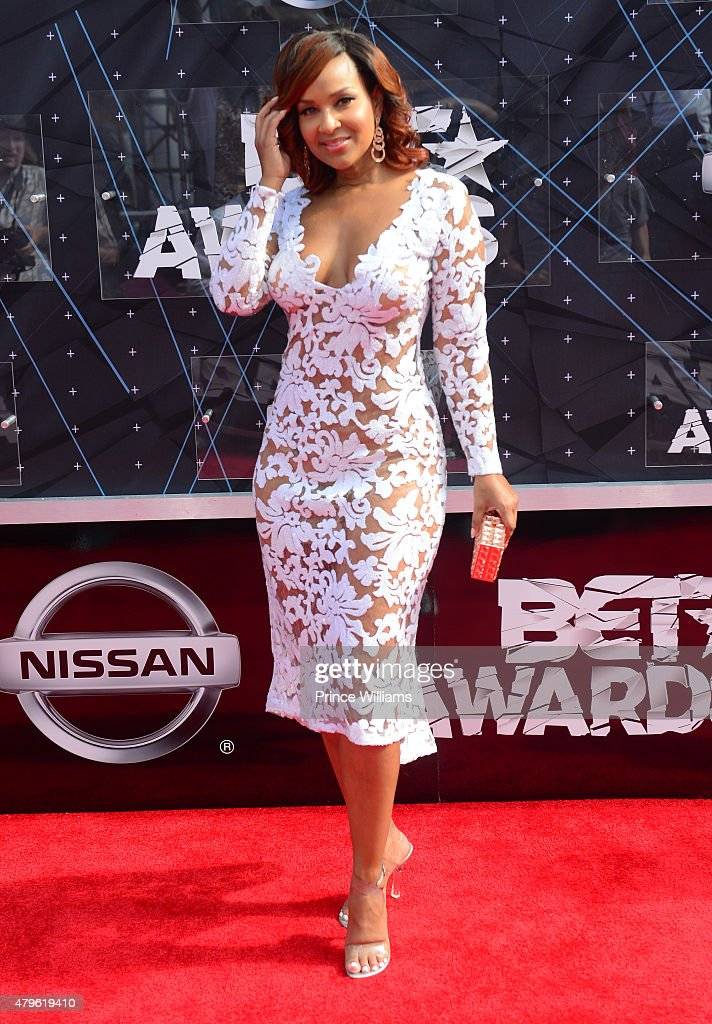 LisaRaye McCoy-Misick attends the 2015 BET Awards on June 28, 2015 in Los Angeles, California.