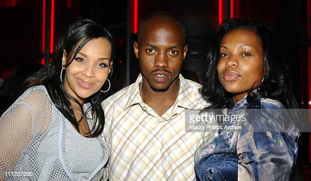 LisaRaye Rell and Truth Hurts during Remy on the Rocs Music Series Hosted by Remy Martin and Roc Records at Ivar in Hollywood California United States