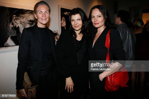 Lisbeth McCoy Ali Hewson and Yelena Yemchuk attend DREW DOGGETT Photography hosted by HELENA CHRISTENSEN NEIL GRAYSON to benefit Nepal Trust at...