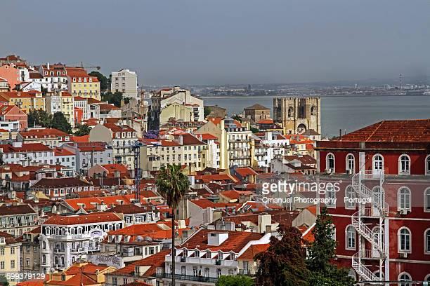 Lisboavista do Miradouro de Sao Pedro de Alcantara