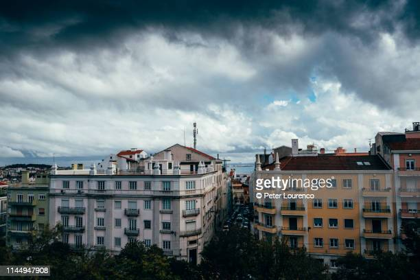 lisbon appartments - peter lourenco stock pictures, royalty-free photos & images