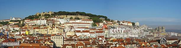 Lisbon from the Santa Justa elevator.