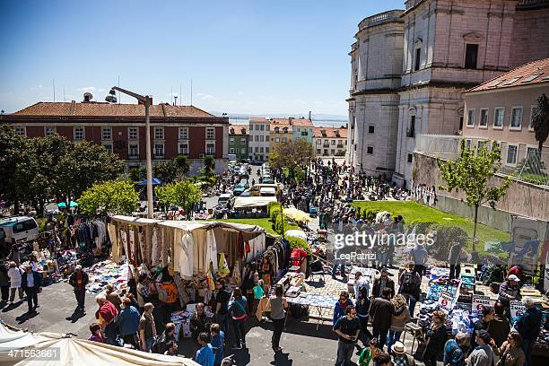 Marché de Lisbonne et de Feira Da Ladra