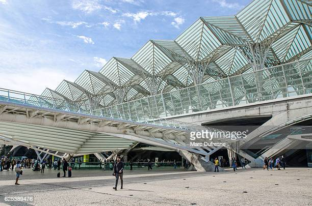 Lisbon Oriente Train Terminal at Park of nations