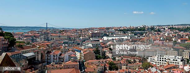 Lisbon panorama from Mouraria