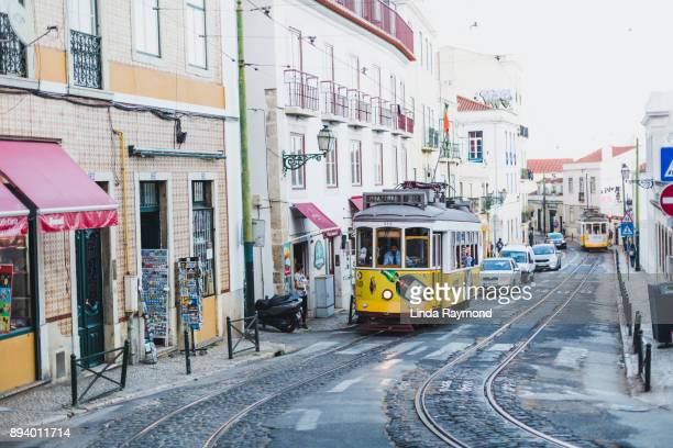 lisbon - alfama stock photos and pictures