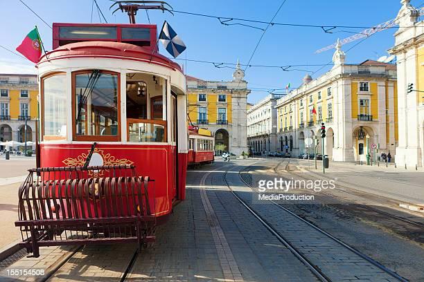Lisbon vintage public transportation