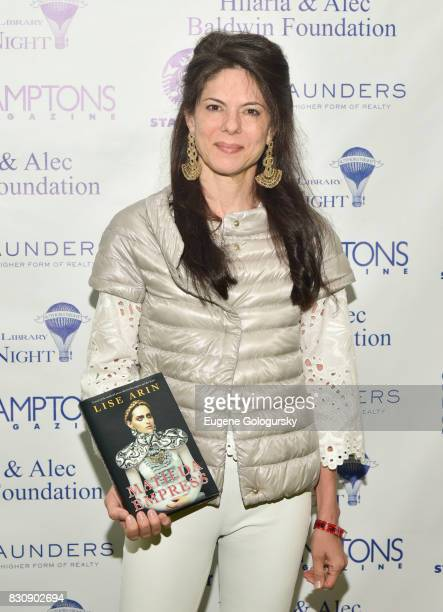 Lise Arin attends Authors Night 2017 At The East Hampton Library at The East Hampton Library on August 12 2017 in East Hampton New York