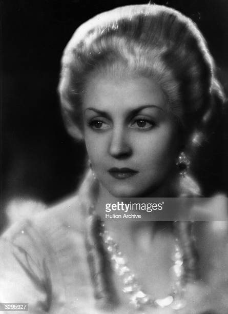 Lise Delamare as Queen Marie Antoinette in 'La Marseillaise' the epic story of the French revolution of 1789 directed by Jean Renoir