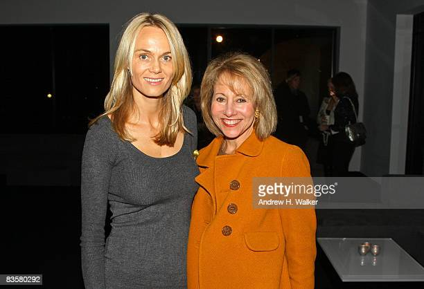 Lise Evans and Chairman of Sothebys North and South America Lisa Dennison attend the Chanel Mobile Art event with Sotheby's at Rumsey Playfield...